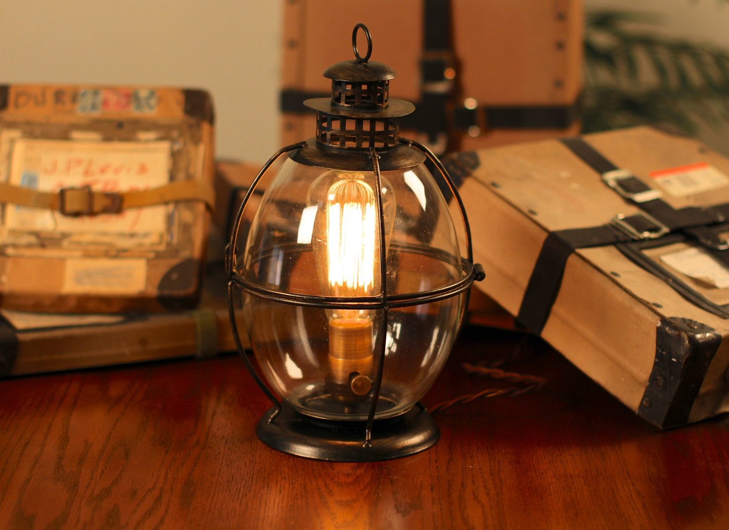 Best ideas about Rustic Desk Lamp . Save or Pin Illuminate Your rooms With the antique Shades From Rustic Now.