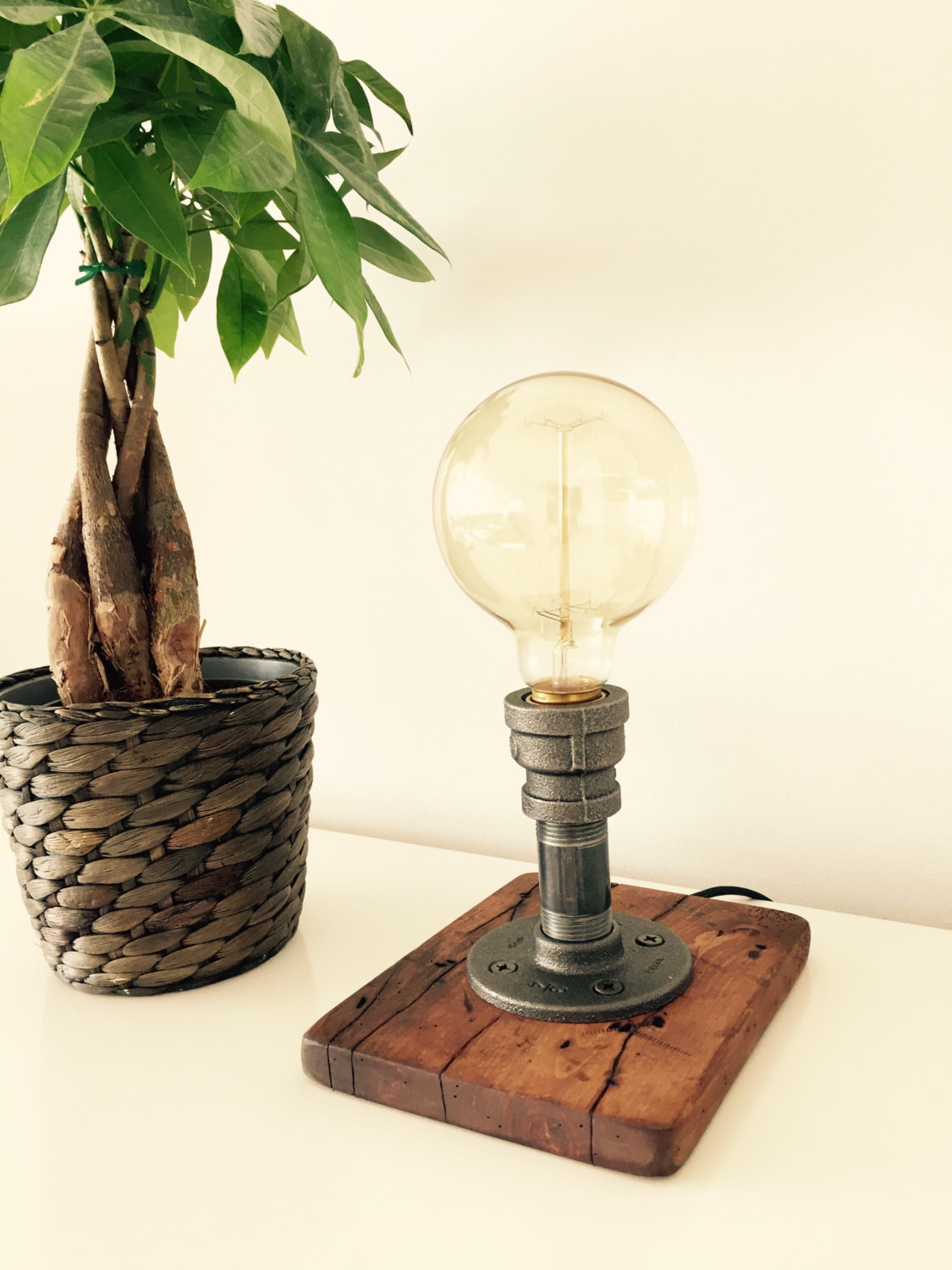 Best ideas about Rustic Desk Lamp . Save or Pin Industrial Modern Rustic Table Lamp Desk Lamp Light Now.