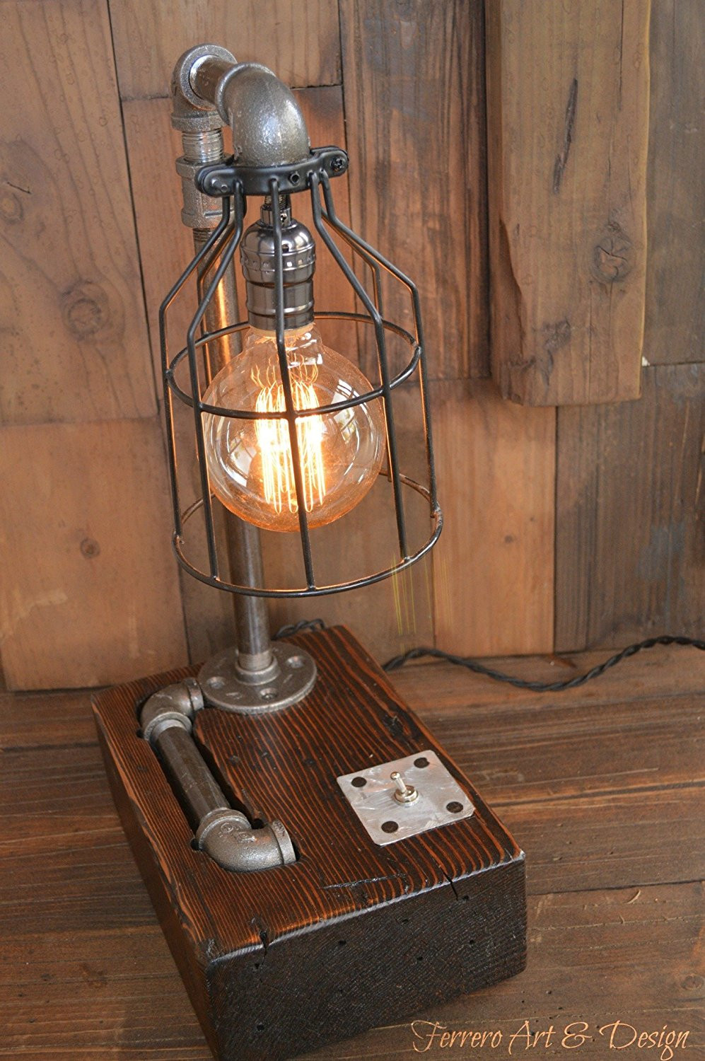 Best ideas about Rustic Desk Lamp . Save or Pin Amazon Steampunk Desk Lamp Lighting Rustic Light Now.