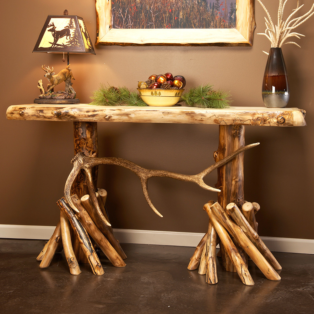 Best ideas about Rustic Entryway Table . Save or Pin Rustic Foyer Table — STABBEDINBACK Foyer Rustic Now.