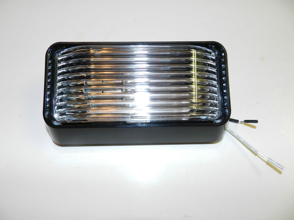 Best ideas about Rv Porch Light . Save or Pin New 12 volt RV Porch Light rectangle clear lens trailer Now.