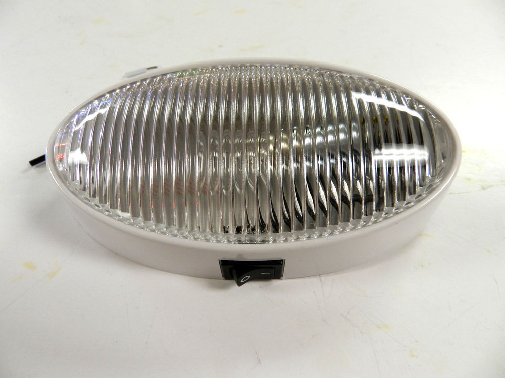 Best ideas about Rv Porch Light . Save or Pin 12 volt RV Porch Light oval CLEAR lens camper RV trailer Now.