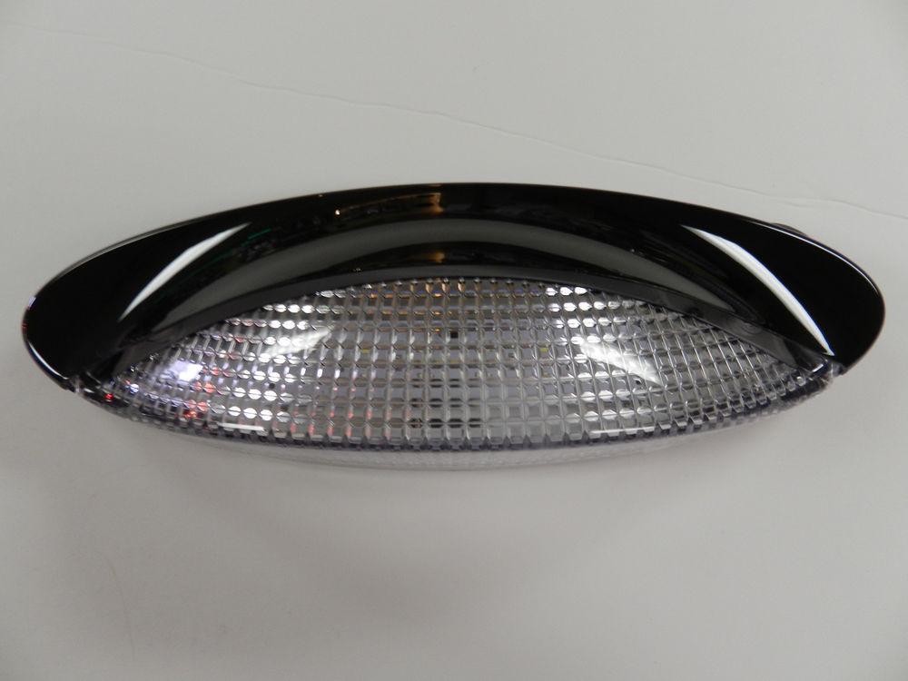Best ideas about Rv Porch Light . Save or Pin 12 volt 18 LED Porch Light oval clear camper RV trailer Now.