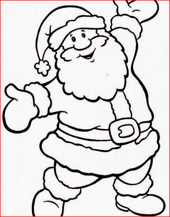 Santa Claus Coloring Pages For Kids  Coloring Pages Santa Claus Coloring Pages Free and Printable