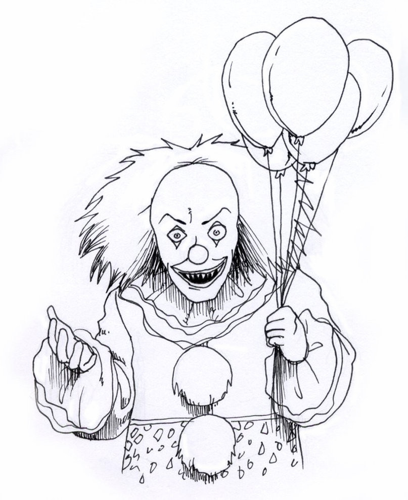Scary Halloween Coloring Pages For Adults  Scary Coloring Pages Best Coloring Pages For Kids