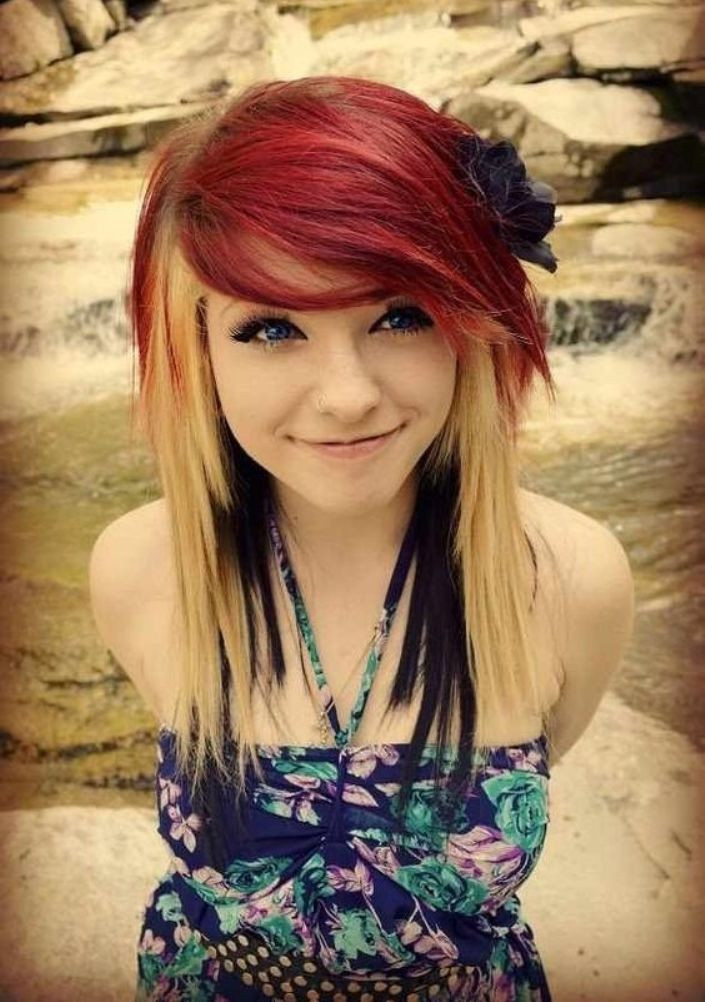 Best ideas about Scene Haircuts For Girls . Save or Pin 10 Popular Emo Hairstyles for Girls FacesHairStylist Now.