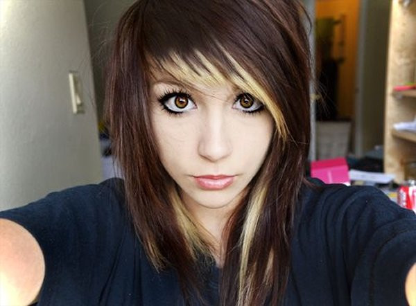Best ideas about Scene Haircuts For Girls . Save or Pin 10 Beautiful Emo Hairstyles For Girls Now.