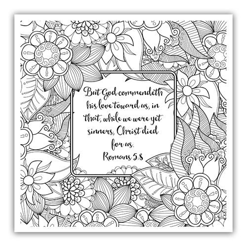 Scripture Coloring Pages For Adults  Bible Study Conclusion and an Exciting Announcement