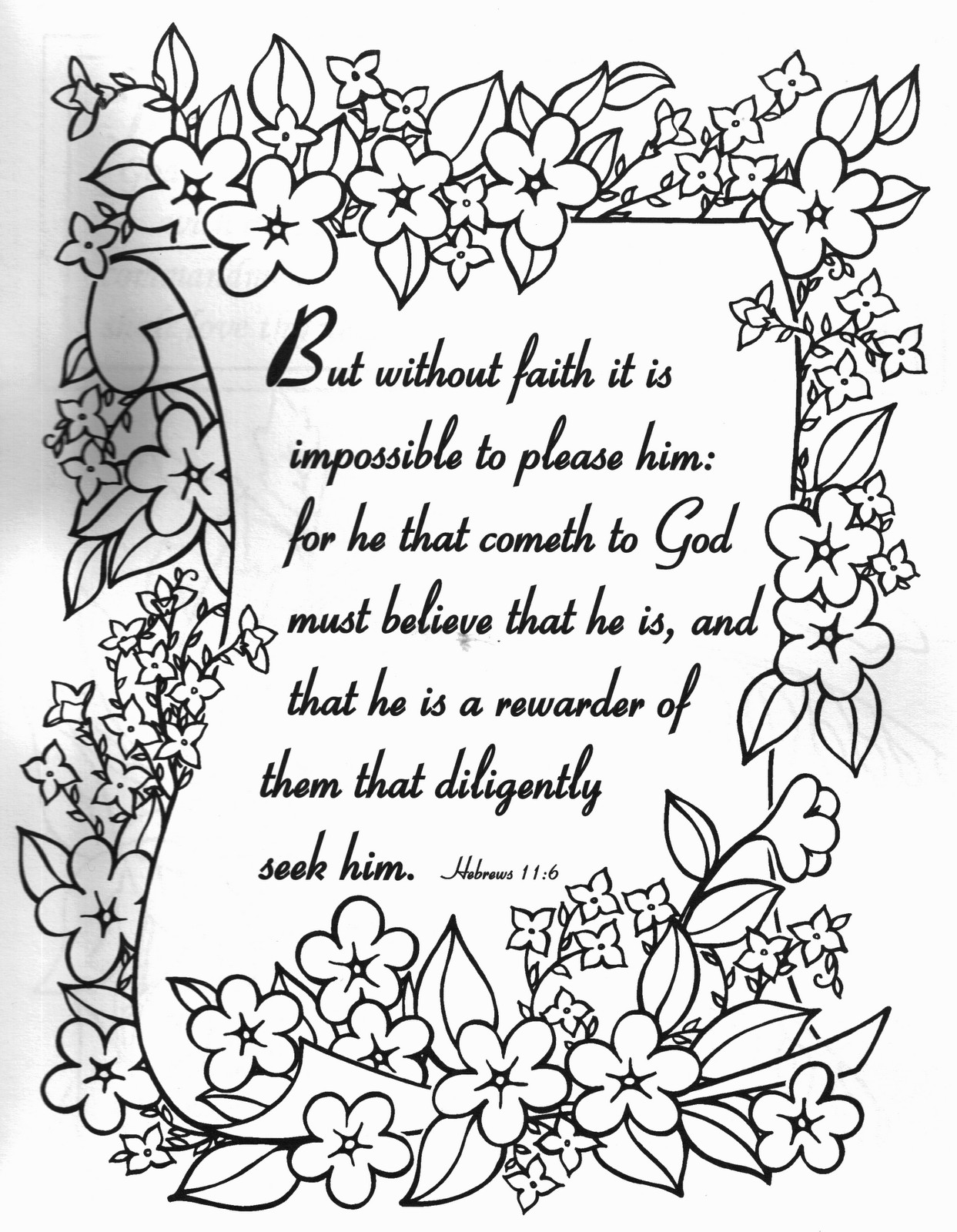 Scripture Coloring Pages For Adults  Petersham Bible Book & Tract Depot New Testament Bible