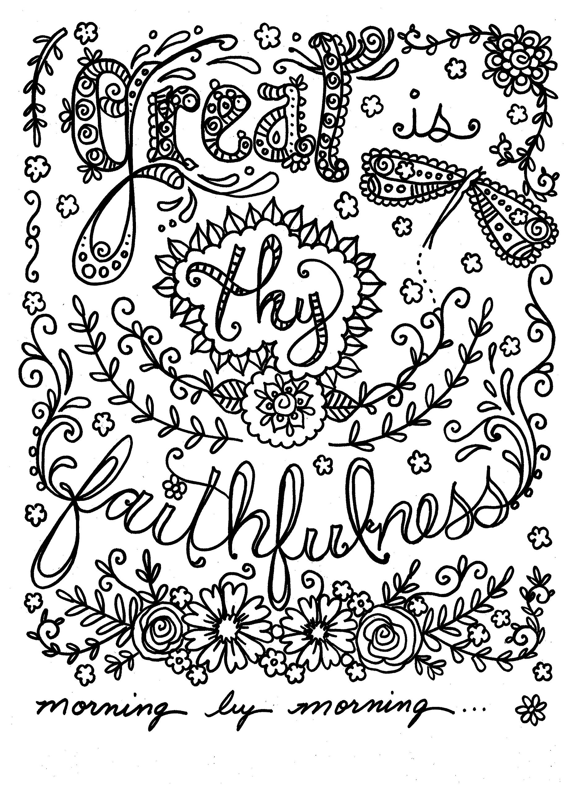 Scripture Coloring Pages For Adults  Bible Verse Coloring Pages for Adults Free Free Coloring