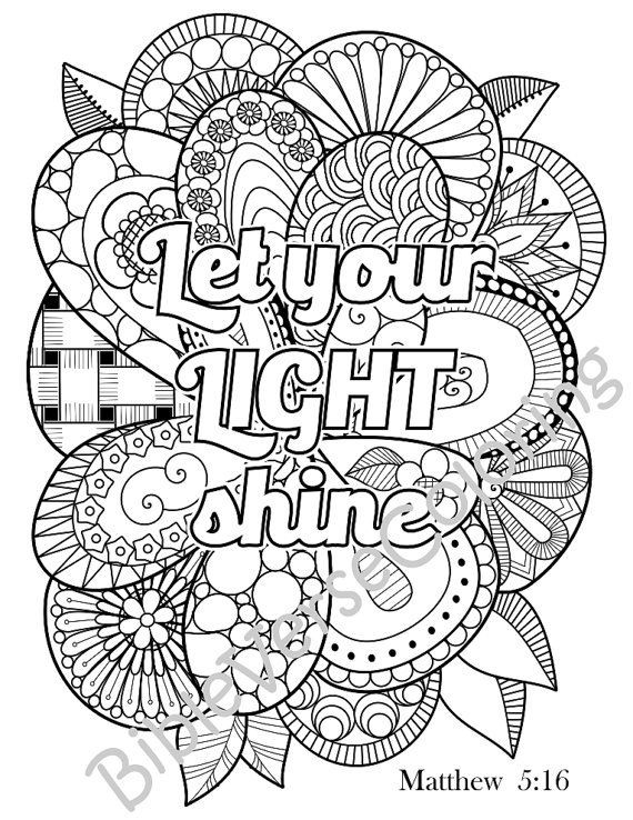 Scripture Coloring Pages For Adults  50 Adult Bible Coloring Pages Coloring Pages For Kids By
