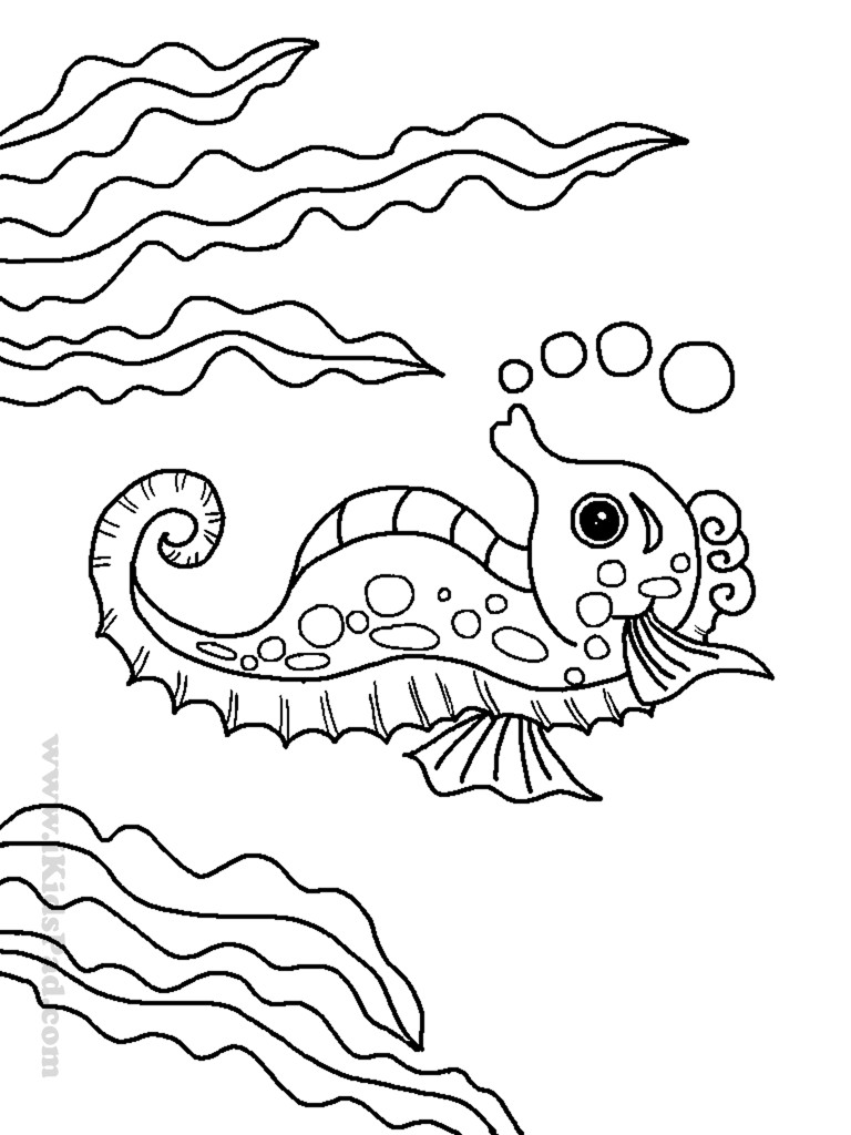 Sea Creature Coloring Pages  Free Ocean Coloring Pages Image 24 Gianfreda