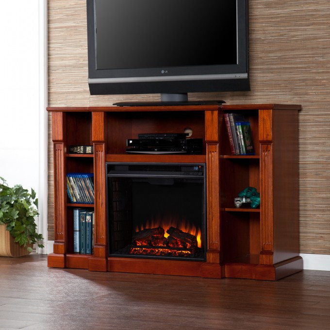Best ideas about Sears Fireplace Tv Stand . Save or Pin Decoration Cool Sears Electric Fireplace For Your Now.