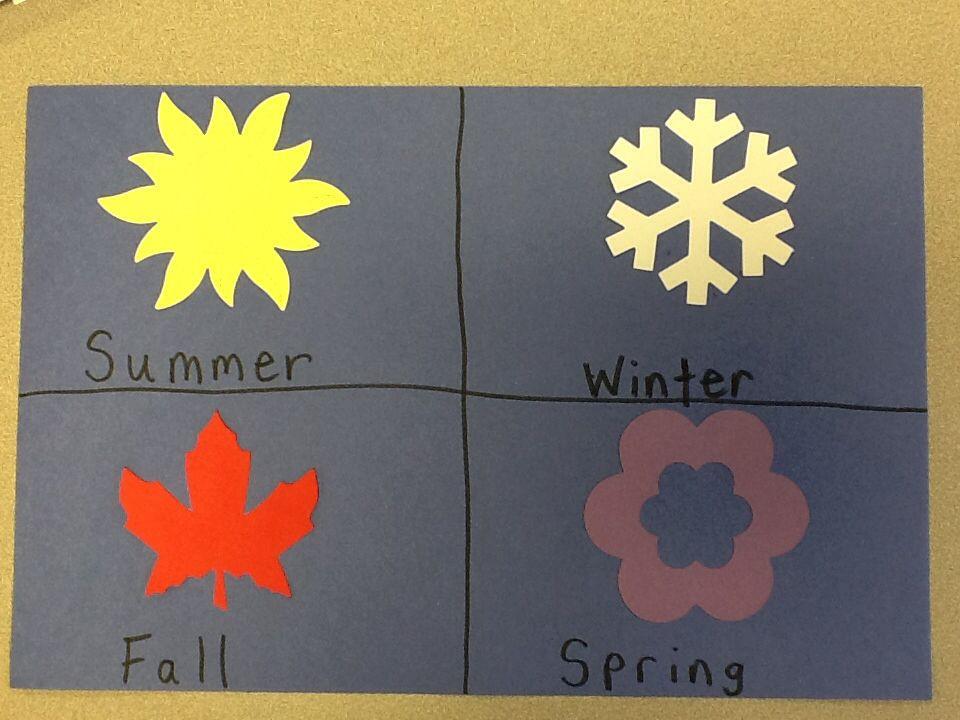 Season Crafts For Preschoolers  Best 25 Preschool seasons ideas on Pinterest