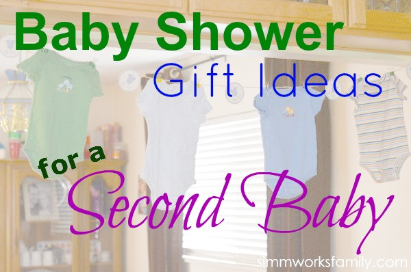 Second Baby Gift Ideas  Baby Shower Gift Ideas for Second Baby A Crafty Spoonful