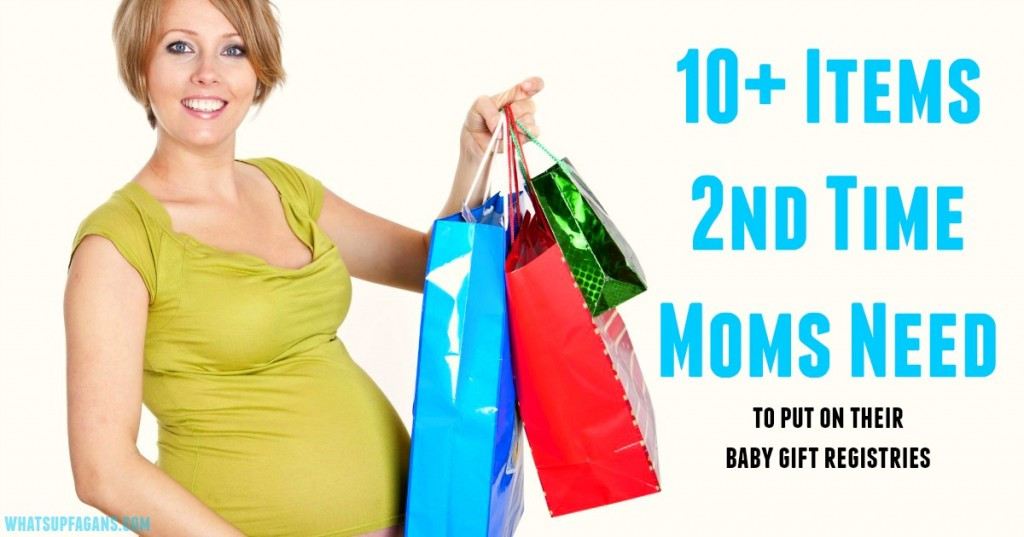 Second Baby Gift Ideas  What Second Time Moms Actually Need on their Baby Registry