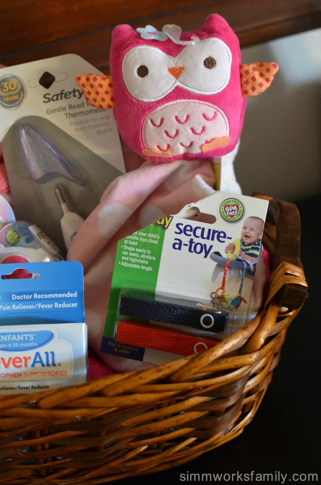 Second Baby Gift Ideas  t baskets Archives A Crafty Spoonful