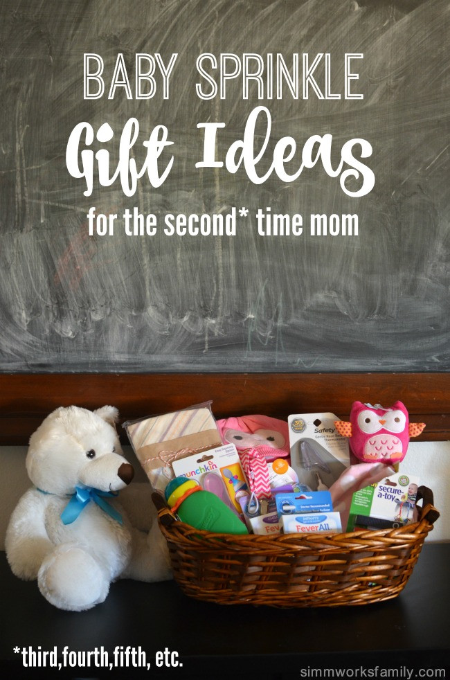 Second Baby Shower Gift Ideas  Baby Sprinkle Gift Ideas for the Second Time Mom