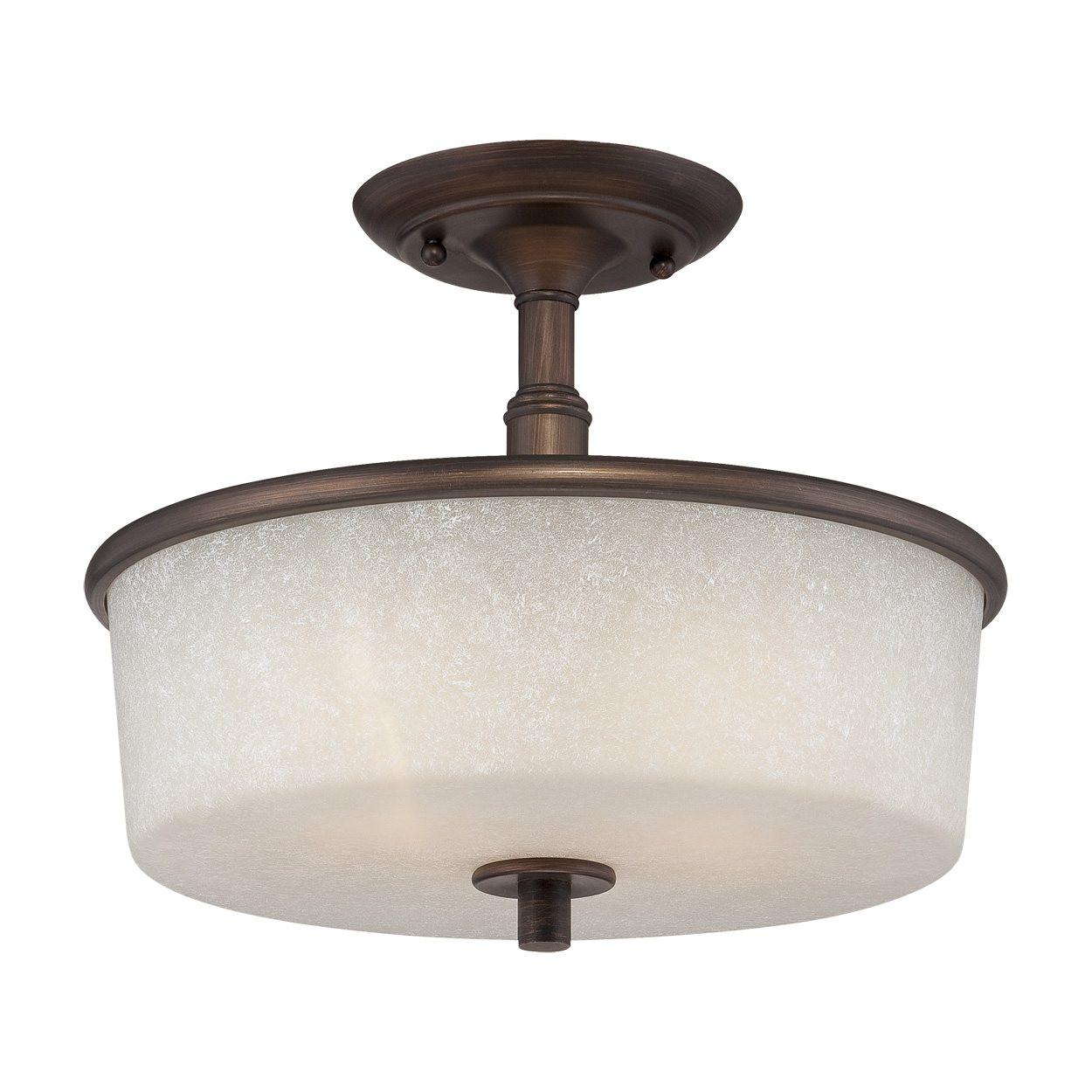 Best ideas about Semi Flush Mount Lighting . Save or Pin Millennium Lighting Dalton 2 Light Semi Flush Mount Now.