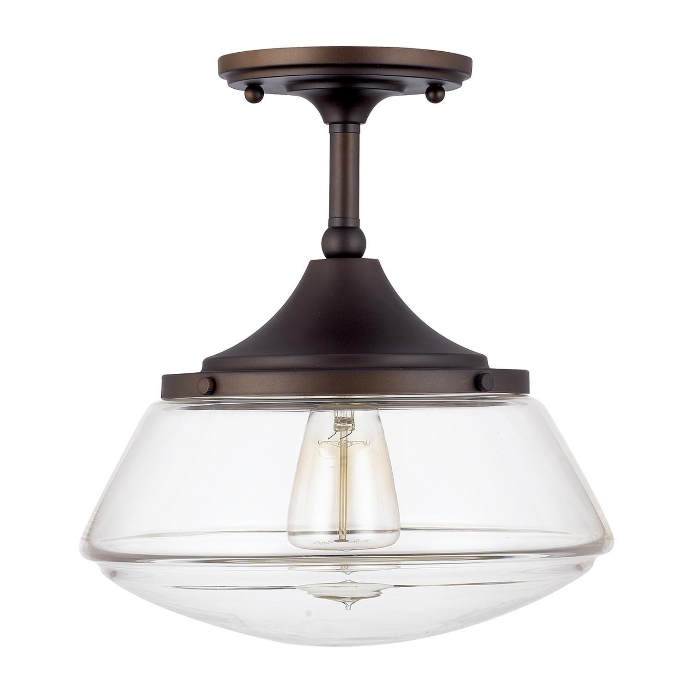 Best ideas about Semi Flush Mount Lighting . Save or Pin Alcott Hill Beverly 1 Light Semi Flush Mount & Reviews Now.