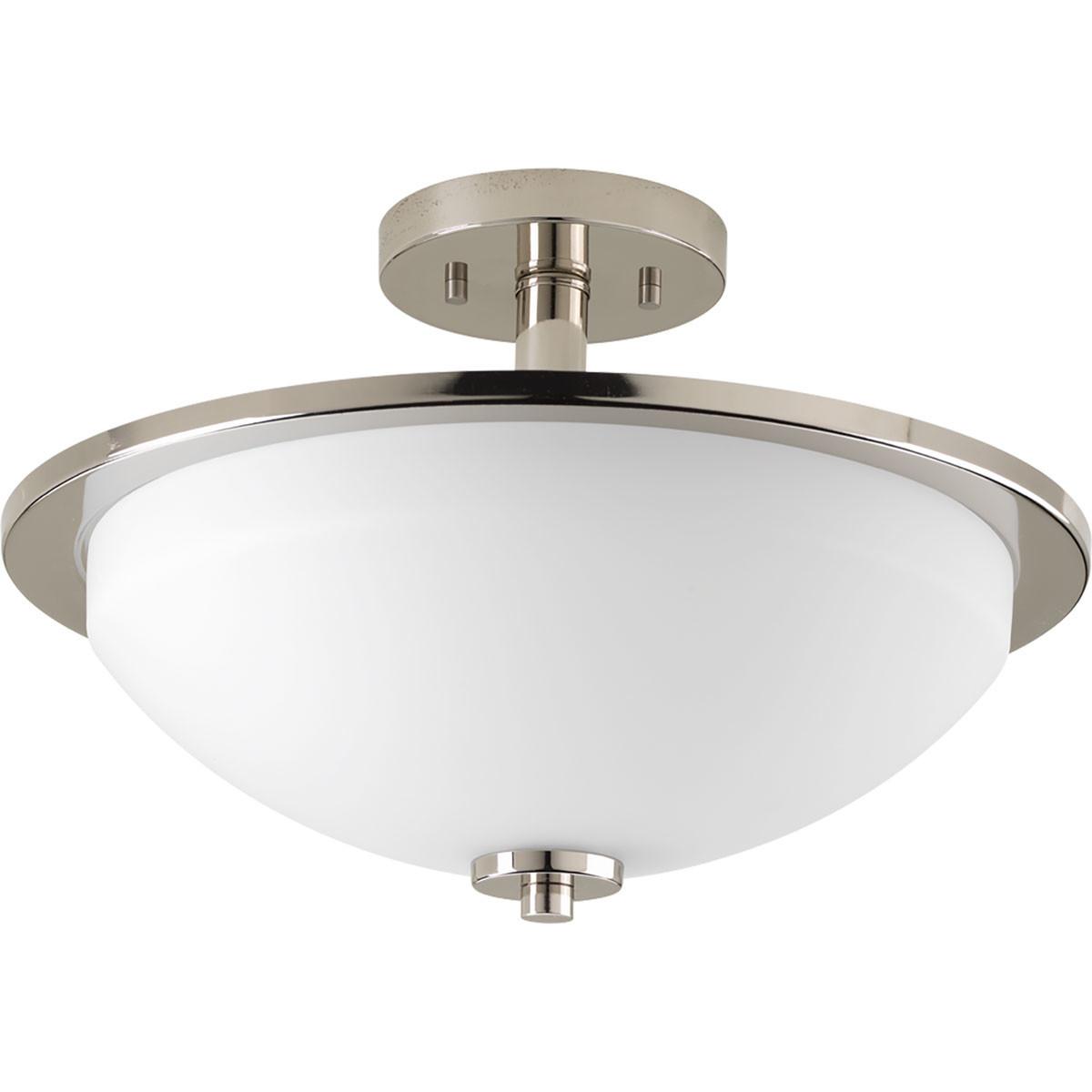 Best ideas about Semi Flush Mount Lighting . Save or Pin Progress Lighting Replay 2 Light Semi Flush Mount Now.