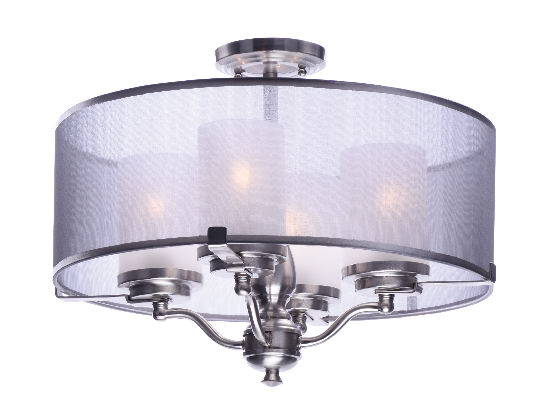 Best ideas about Semi Flush Mount Lighting . Save or Pin Lucid 4 Light Semi Flush Mount Now.