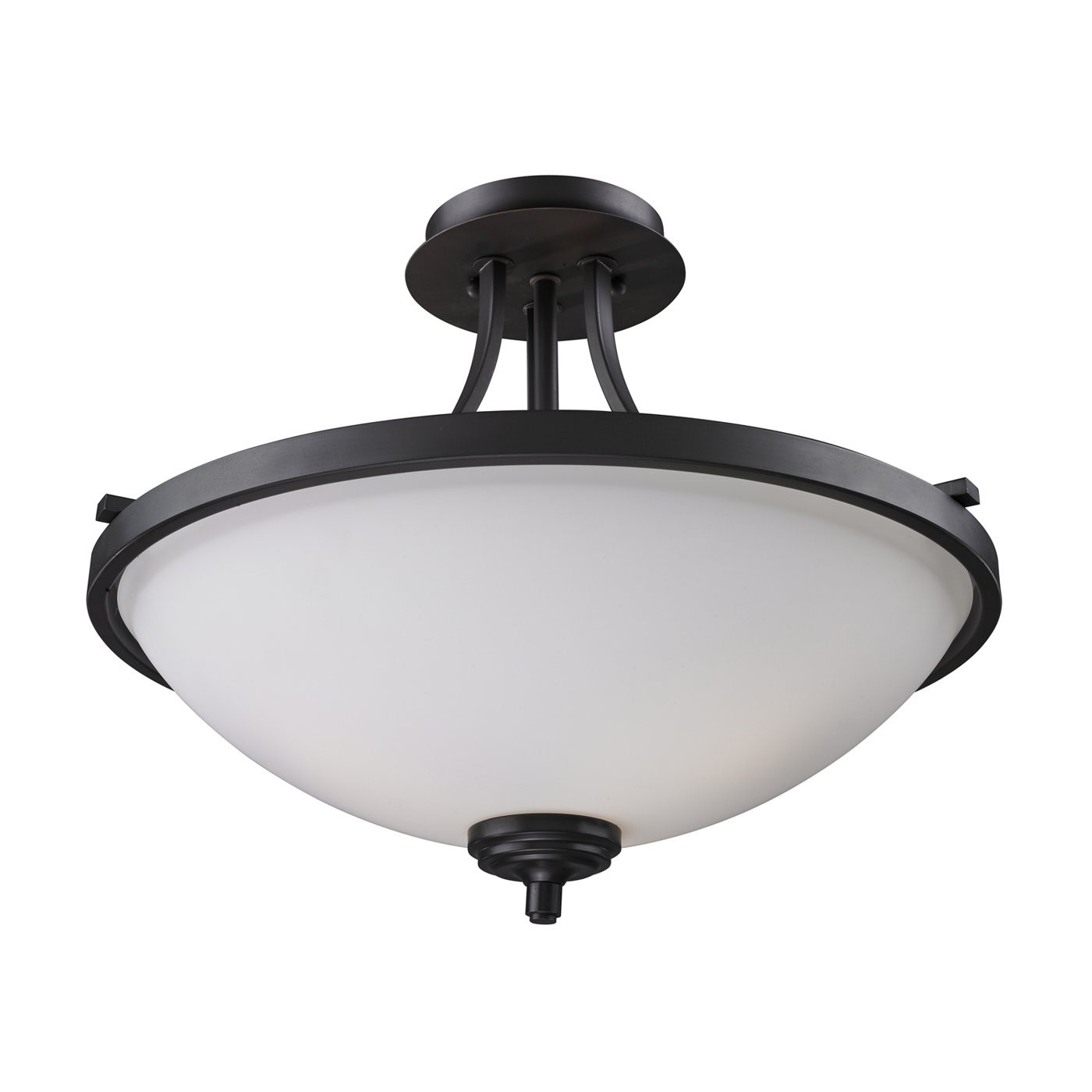 Best ideas about Semi Flush Mount Lighting . Save or Pin Z Lite 2006SF Chambley Semi Flush Mount Ceiling Light Now.