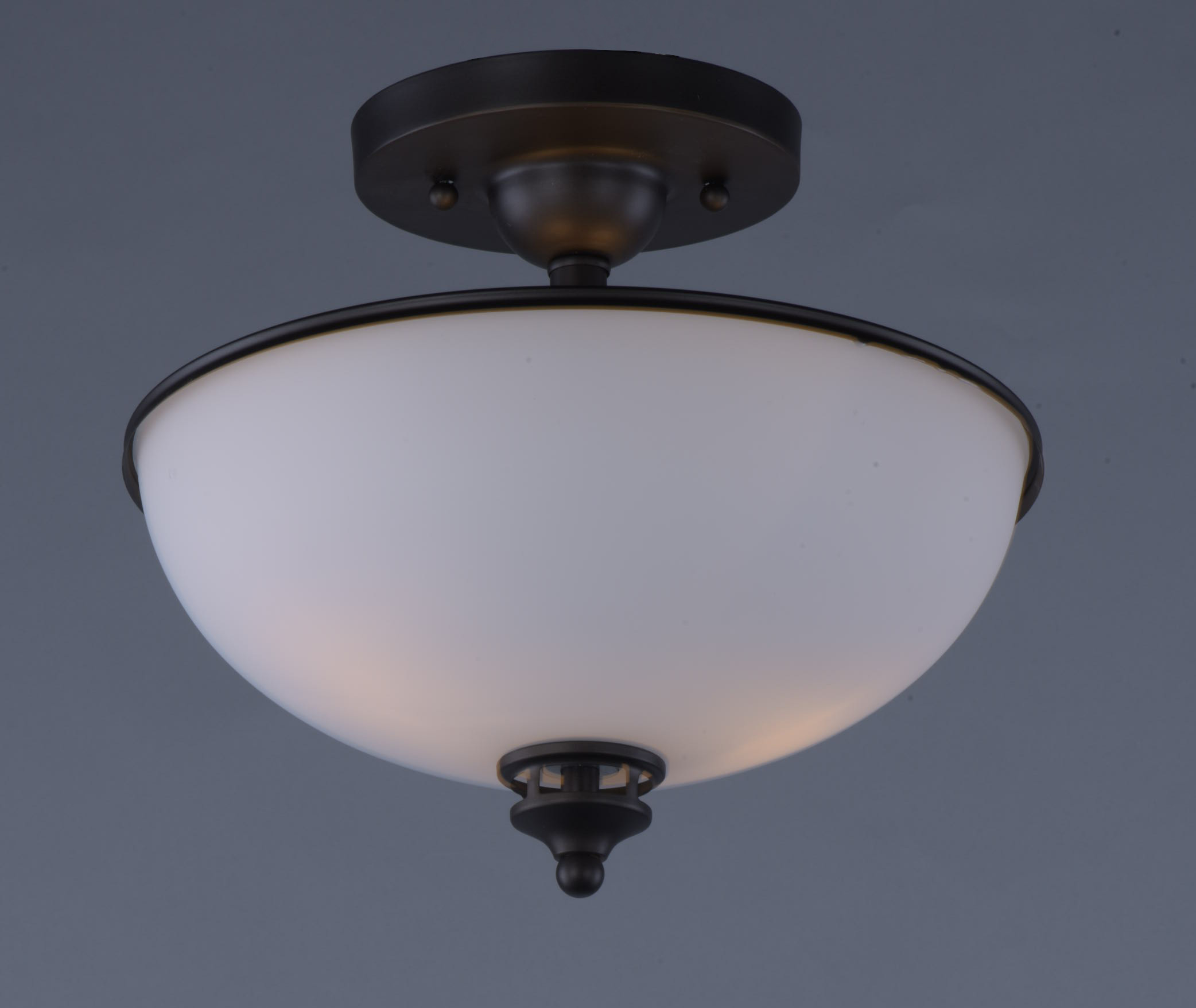 Best ideas about Semi Flush Mount Lighting . Save or Pin Novus 2 Light Semi Flush Mount Semi Flush Mount Maxim Now.