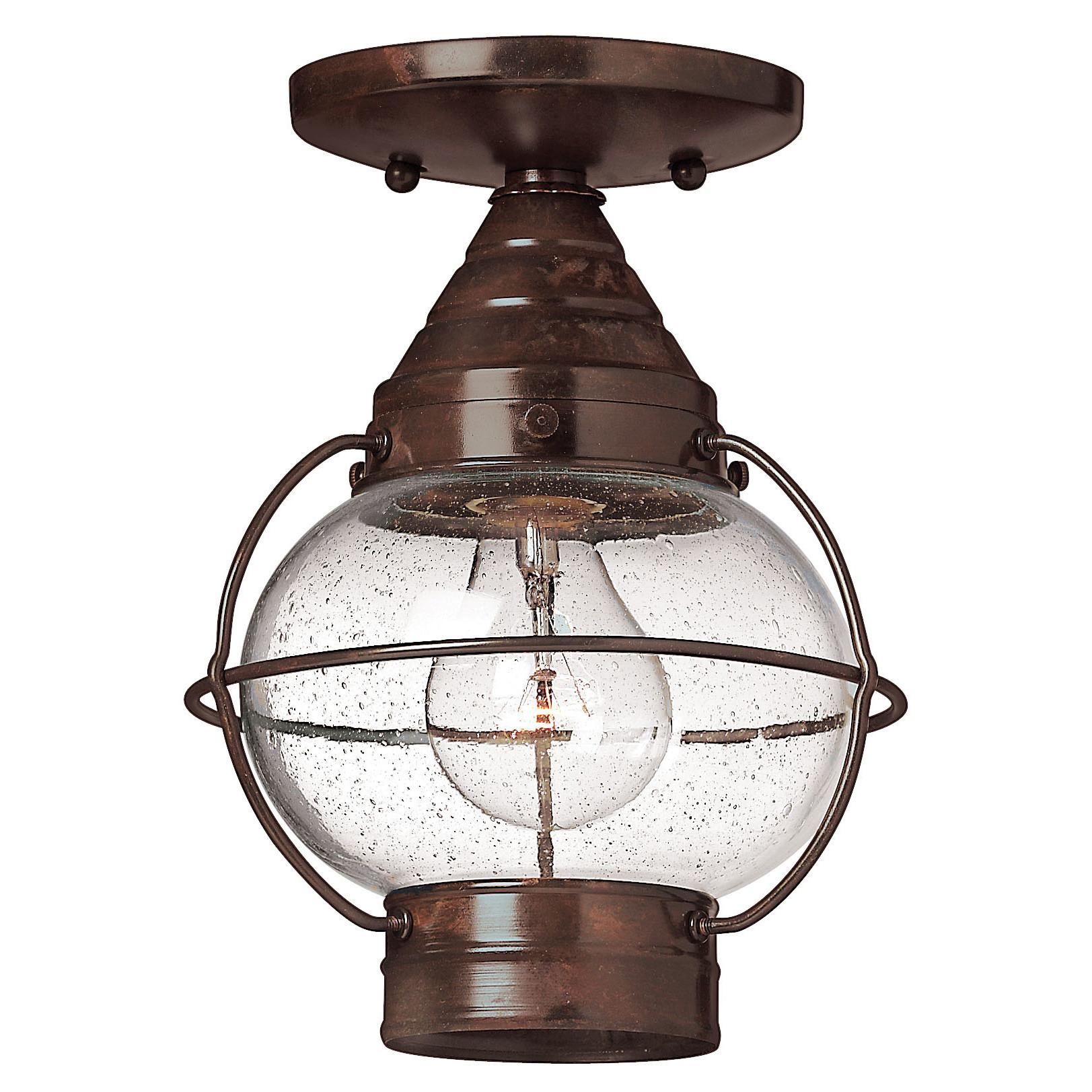 Best ideas about Semi Flush Mount Lighting . Save or Pin Hinkley Lighting Cape Cod 1 Light Semi Flush Mount Now.