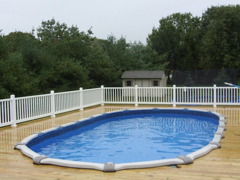 Best ideas about Semi Inground Pool Kits . Save or Pin Ground Pools Desmond Pools & Spas Now.