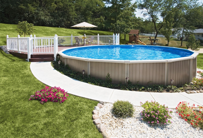 Best ideas about Semi Inground Pool Kits . Save or Pin Semi Inground Swimming Pool Questions and Answers Now.