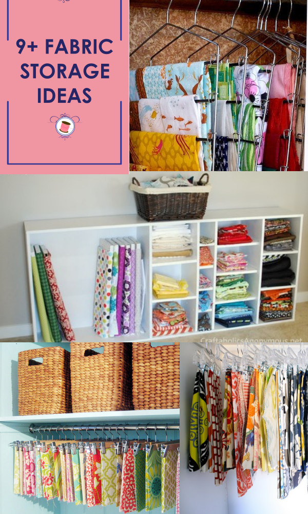 Best ideas about Sewing Storage Ideas . Save or Pin 11 WONDERFUL Fabric Storage Ideas for Sewing Rooms Sew Now.