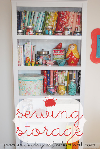 Best ideas about Sewing Storage Ideas . Save or Pin Mommy by day Crafter by night Sewing Storage Ideas Now.