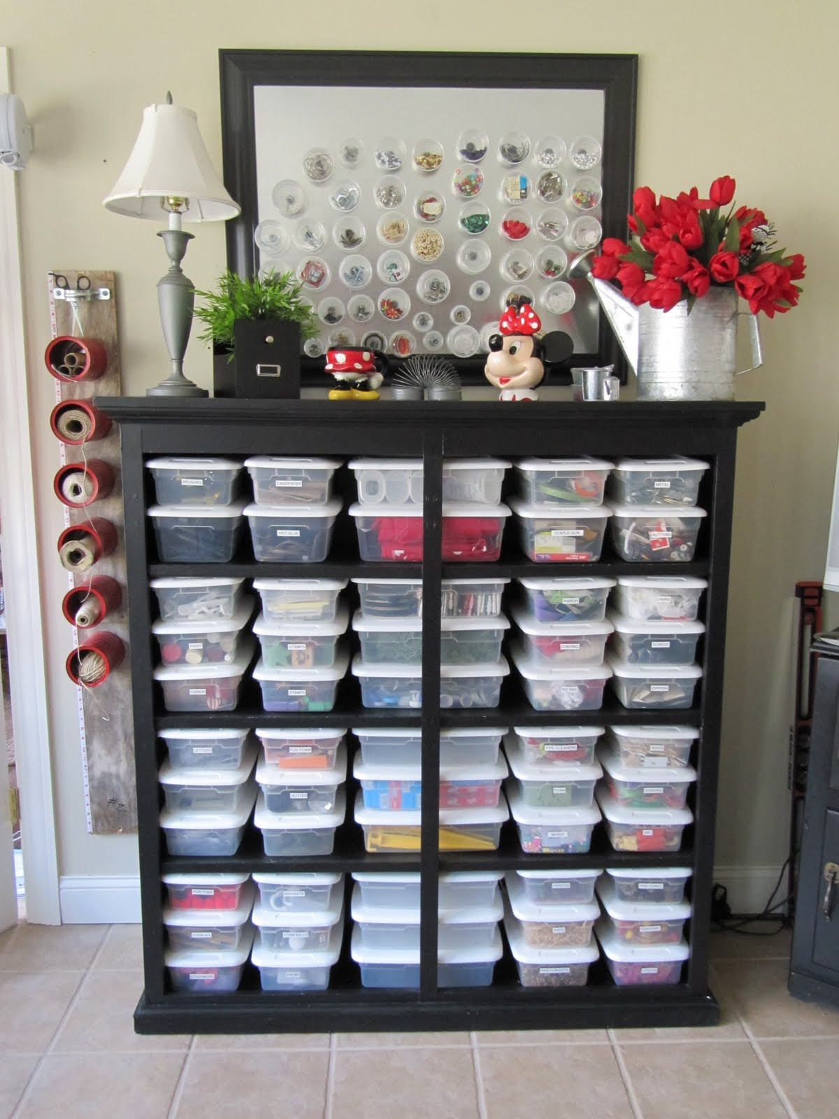 Best ideas about Sewing Storage Ideas . Save or Pin All The Joy Tuesday Ten Craft Organization Ideas Now.