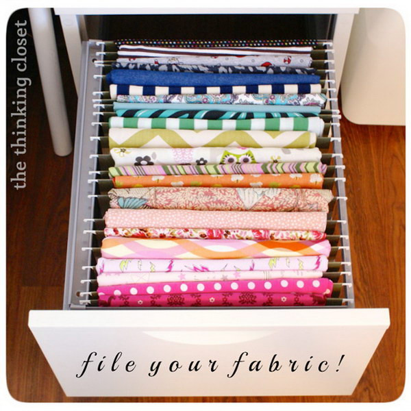 Best ideas about Sewing Storage Ideas . Save or Pin Sewing Room Storage & Organization Ideas 2017 Now.