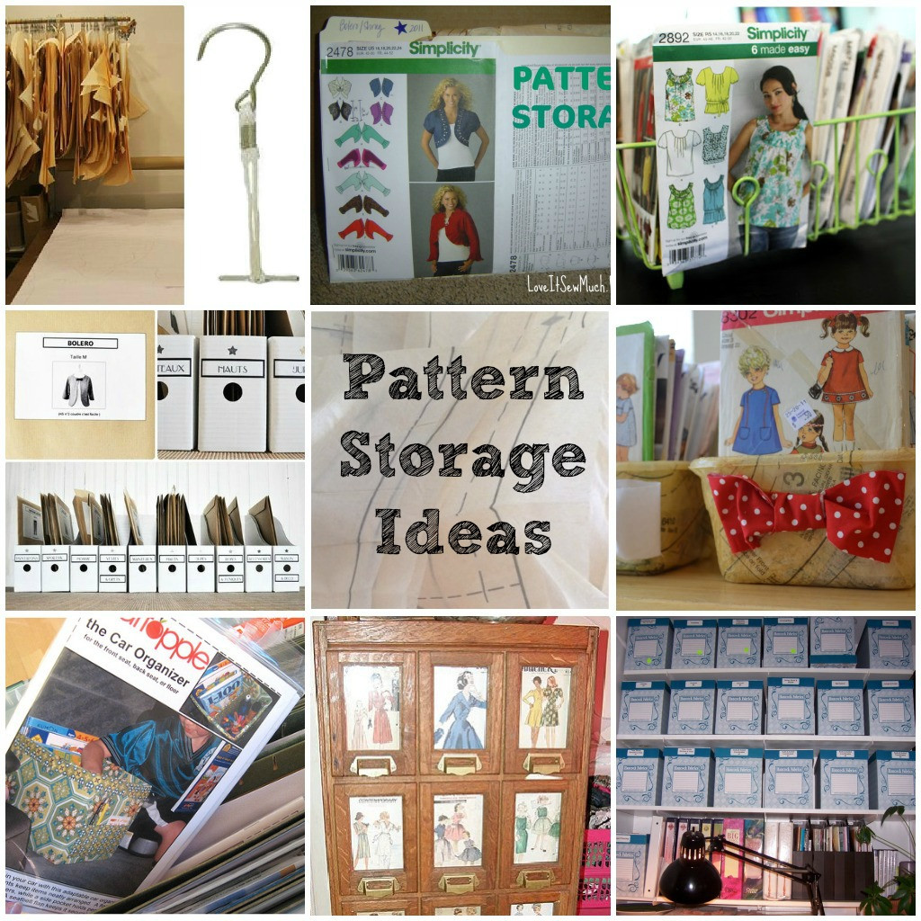 Best ideas about Sewing Storage Ideas . Save or Pin Pattern Storage Ideas and Tips Now.
