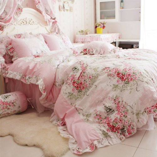 Best ideas about Shabby Chic Bedding . Save or Pin Shabby Chic Bedding Amazon Now.