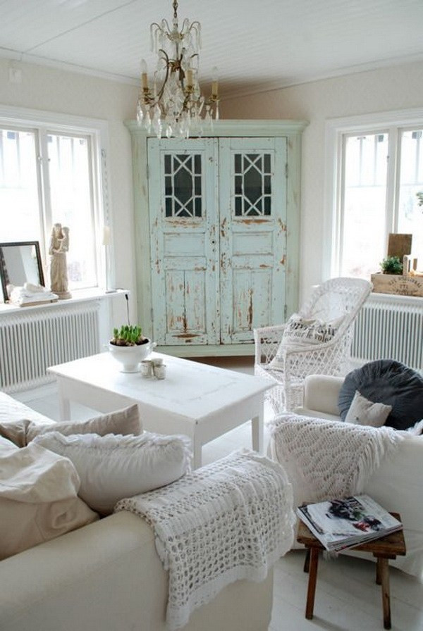 Best ideas about Shabby Chic Living Room Ideas . Save or Pin 25 Charming Shabby Chic Living Room Decoration Ideas Now.