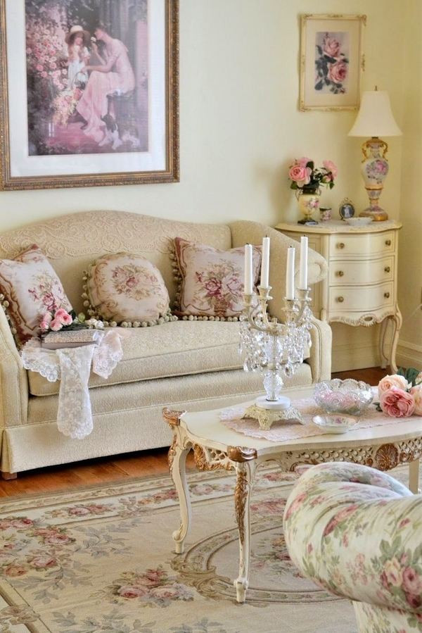 Best ideas about Shabby Chic Living Room Ideas . Save or Pin 50 Cool Shabby Chic Living Room Decor Ideas EcstasyCoffee Now.