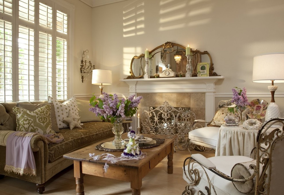 Best ideas about Shabby Chic Living Room Ideas . Save or Pin Ideas for Shabby Chic Living Room Interior Design Now.