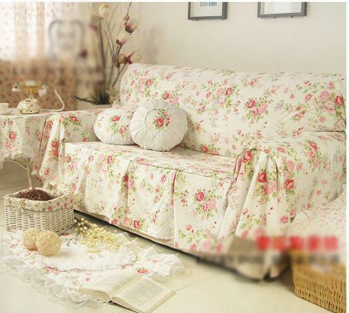 Best ideas about Shabby Chic Loveseat . Save or Pin Shabby Chic Sofa Now.