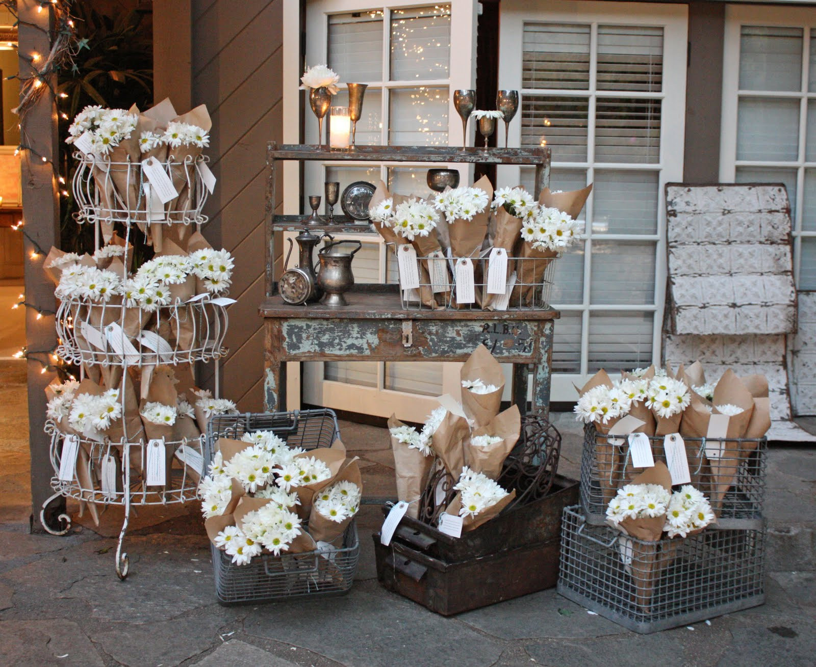 Best ideas about Shabby Chic Wedding . Save or Pin sTORIbook Weddings Tori and Dean s Shabby Chic Wedding Now.