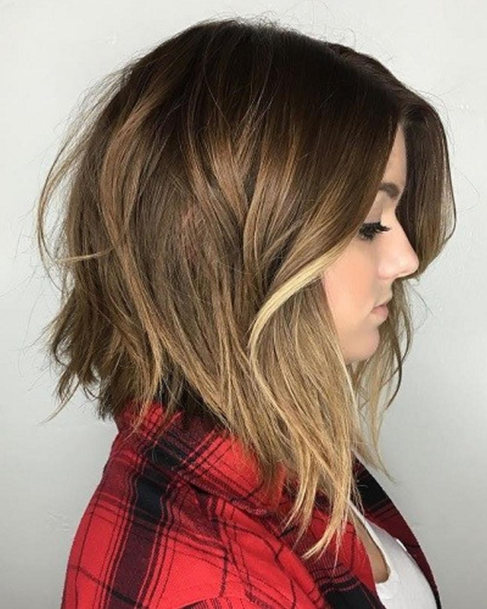 Shaggy Bob Haircuts 2019  20 Latest Mixed 2018 Short Haircuts for Women Bob Pixie