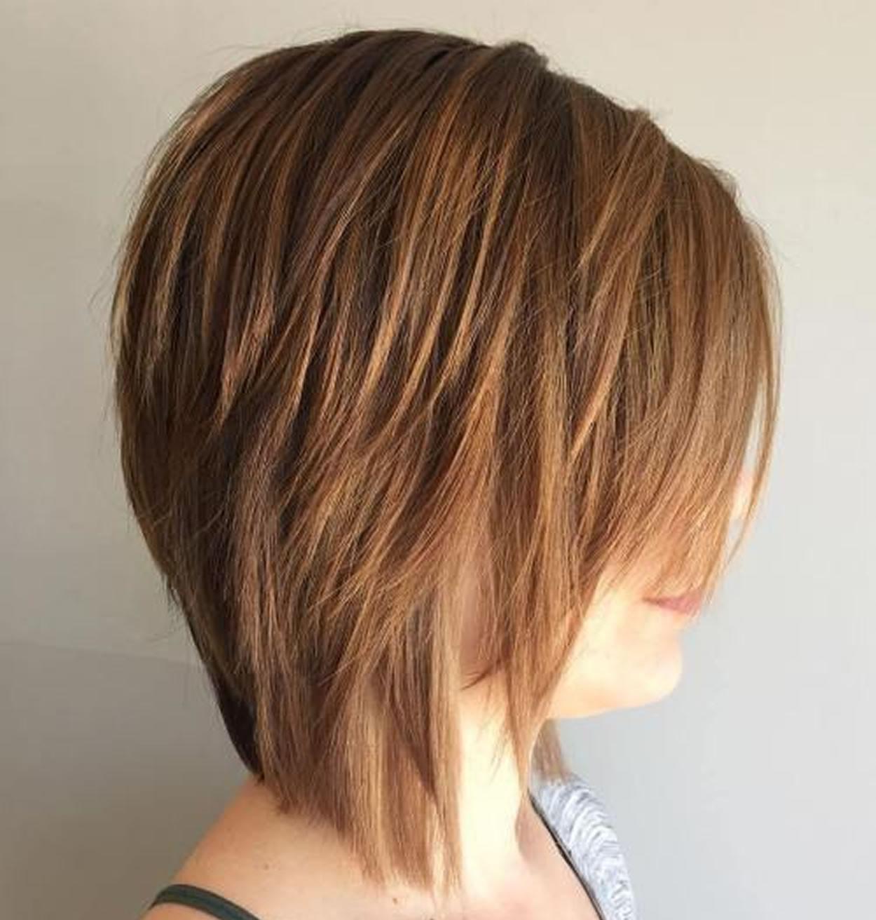 Shaggy Bob Haircuts 2019  20 Best Worldwide Chic Shag Haircut Solutions