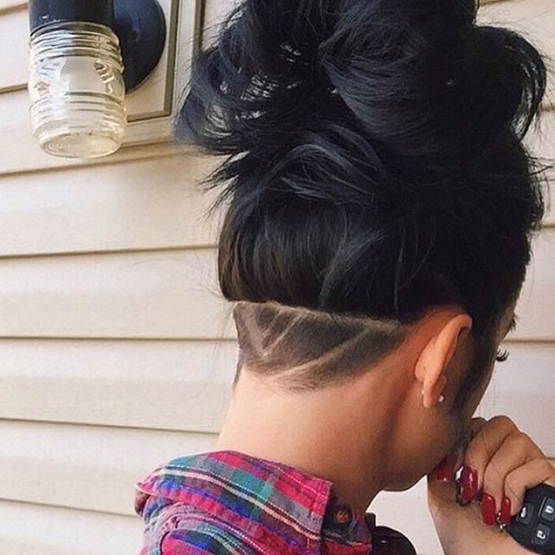 Shaved Undercut Hairstyle  23 Most Bad ass Shaved Hairstyles crazyforus