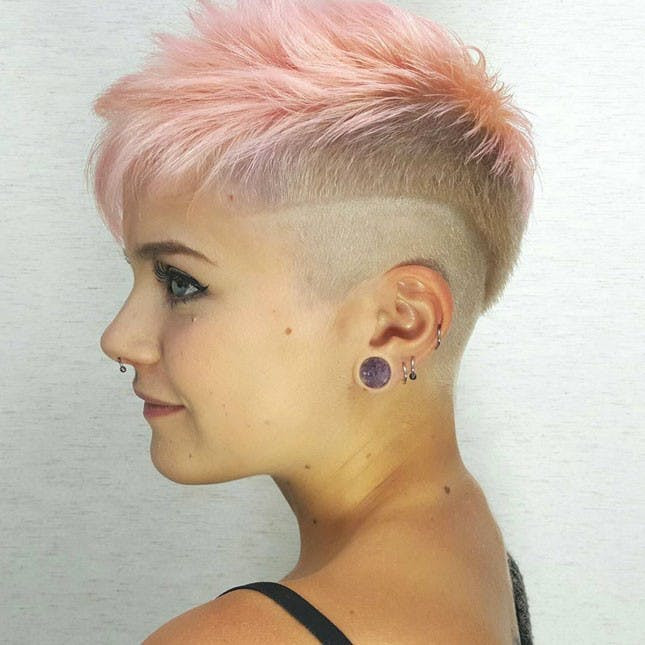 Shaved Undercut Hairstyle  11 Shaved Hairstyles That Will Make You Want an Undercut