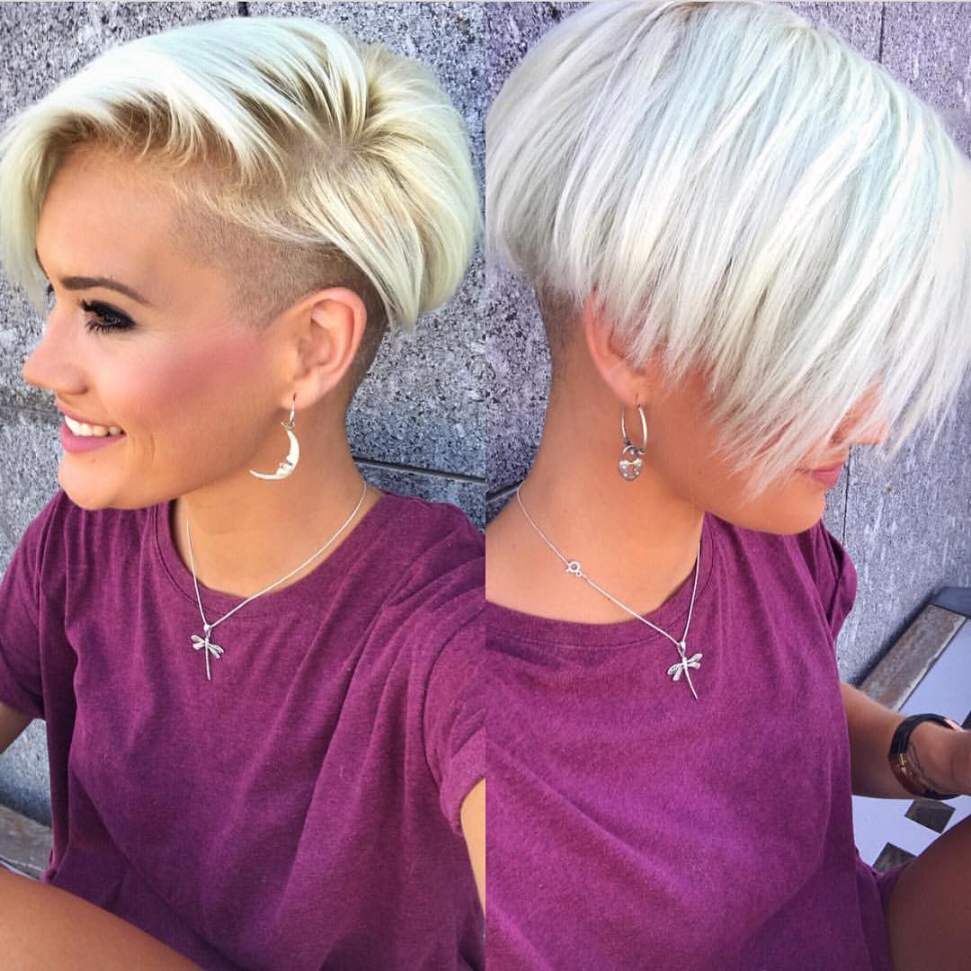 Best ideas about Shaved Undercut Hairstyles . Save or Pin 10 Shaved Haircuts for Short Hair – Sassy Edgy & Chic Now.