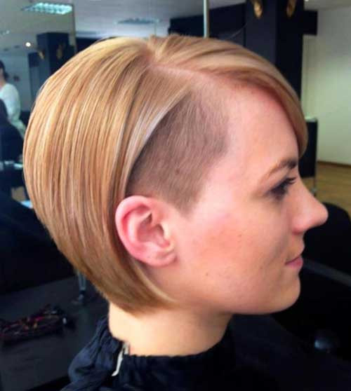 Best ideas about Shaved Undercut Hairstyles . Save or Pin 15 Shaved Bob Hairstyles Ideas Now.