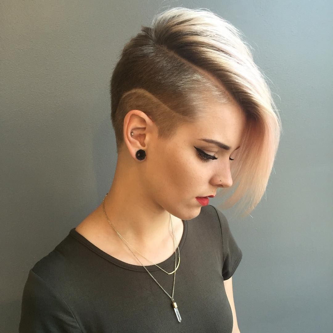 Best ideas about Shaved Undercut Hairstyles . Save or Pin 50 Best Shaved Hairstyles for Women in 2017 Now.