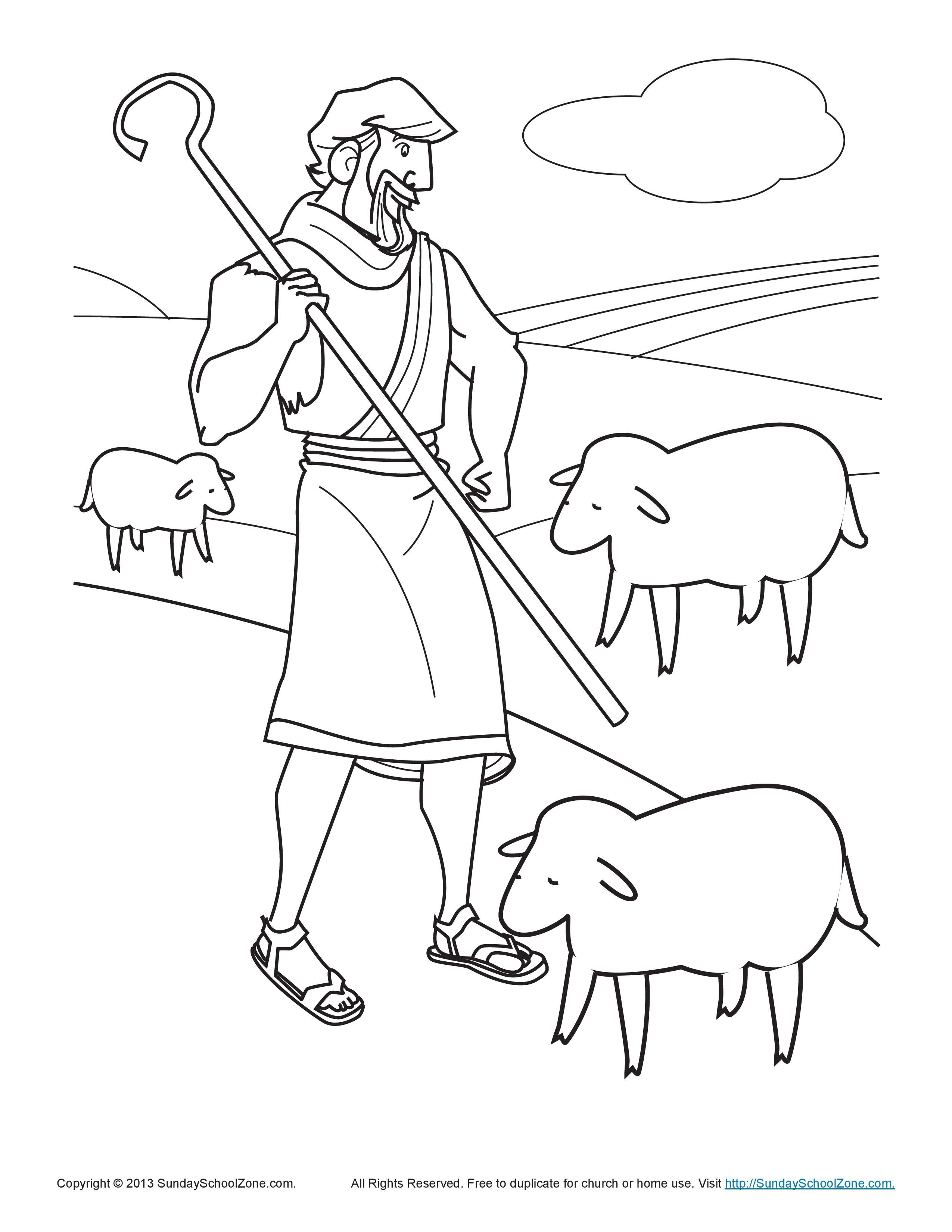 Shepherds Coloring Pages  shepherd coloring page